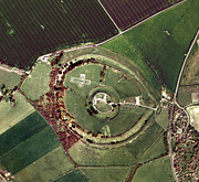 Old Sarum Print by Getmapping Plc