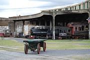 Judy Hall-Folde - Old Savannah Rail Yard
