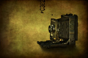 Camera Metal Prints - Old School Metal Print by Evelina Kremsdorf