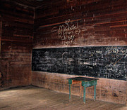 School House Photos - Old School House by William Jones
