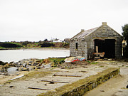 Old Shed By The Sea Print by Alan MacFarlane