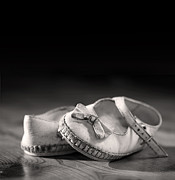 Memory Art - Old shoes by Jane Rix