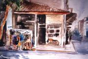 George Siaba - Old shop in Athens