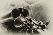 Firearms Metal Prints - Old Shotgun Metal Print by Wilma  Birdwell