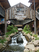 Gatlinburg Tn Prints - Old Smokey Moonshine still in Gatlinburg Tn. Print by Artie Wallace