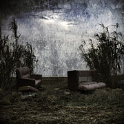 Relax Digital Art - Old Sofas by Stylianos Kleanthous