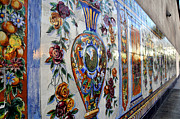 Ybor City Photos - Old Spanish Tiles by David Lee Thompson