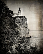 Duluth Art - Old Split Rock Lighthouse by Perry Webster
