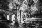 Mysterious Landscape Prints - Old Spring House Print by Scott Norris