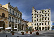 Historic Site Prints - Old Square. Havana. Cuba Print by Juan Carlos Ferro Duque
