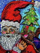 Toys Pastels - Old St Nick by Emily Michaud