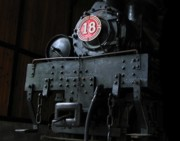 Boiler Photos - Old Steam Locomotive by Yali Shi