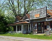 Old Store Print by Marty Koch