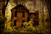 Abandoned Houses Prints - Old Stories Print by Emily Stauring