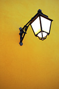 Old Wall Framed Prints - Old Street Lamp Framed Print by Carlos Caetano