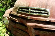 Rusted Dashboard - Old Studebaker by Pauline Ross