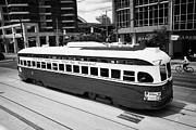 City Streets Photos - Old Style Toronto Transit System Ttc Tram Streetcar Ontario Canada by Joe Fox