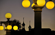Photography Of Lamps Photos - Old Tampa by David Lee Thompson