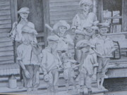 Log Cabin Art Drawings - Old Time Baseball by David Ackerson