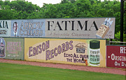 Records Photos - Old Time Baseball Field by Frank Romeo