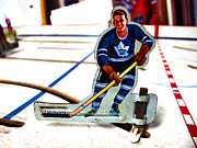 Hockey Player Photos - Old Time Hockey by Nathan  Brend