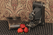 Old Camera Pyrography Posters - Old Time Poster by Moon Time Photo