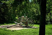 Wagon Photos - Old Time Pump Wagon by Tim McCullough
