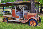 Abandoned Cars Prints - Old timer Print by Garry Gay