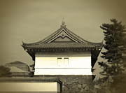 Japan House Framed Prints - Old Tokyo Framed Print by Irina  March