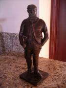 Father Sculptures - Old Tom Morris-Father of Golf by Casey Koehler