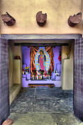 New Mexico Cards Prints - Old Town Chapel II Print by Steven Ainsworth