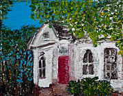 Impasto Oil Paintings - Old Town Church  by Tara Leigh Rose