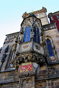 Astronomical Clock Framed Prints - Old Town City Hall Framed Print by Mariola Bitner
