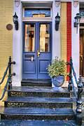 Framed Old Town Door Photograph Prints - Old Town Doorway Print by Steven Ainsworth