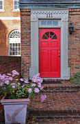 Framed Old Town Door Photograph Prints - Old Town Entrance Print by Steven Ainsworth