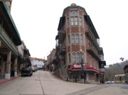 Eureka Springs Art - Old Town Eureka Springs Arkansas by Bill Hyde