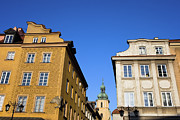 European Capital Prints - Old Town Houses in Warsaw Print by Artur Bogacki