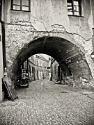 Old Roadway Framed Prints - Old Town in Lublin - Poland Framed Print by Natalia Babanova