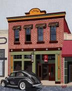 Loveland Prints - Old Town Print by Kerri Ertman