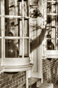 Old Town Windows Print by Steven Ainsworth