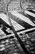 Cobbles Prints - Old Tracks Made New Print by Hakon Soreide