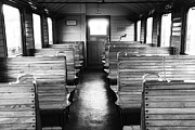 Zug Metal Prints - Old train compartment Metal Print by Falko Follert