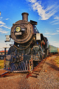 Engine Photos - Old train by Garry Gay
