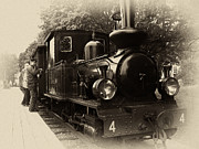 Steel Photos - Old Train Sweden by Stylianos Kleanthous