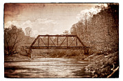 Murphy Framed Prints - Old Train Trestle Framed Print by Debra and Dave Vanderlaan