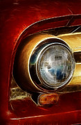 Old Truck Headlight Print by Darleen Stry