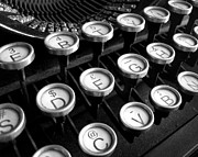 Typewriter Keys Photos - Old Typewriter by Kate McKenna