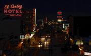 Motel Art Prints - Old Vegas Print by David Lee Thompson