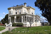 Victorian Architecture Prints - Old Victorian Camron-Stanford House . Oakland California . 7D13445 Print by Wingsdomain Art and Photography