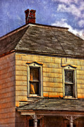 Haunted House Photos - Old Victorian House by Jill Battaglia